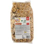 Cereales muesli con frutas bolsa 1 Kg