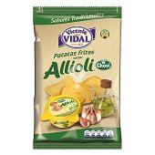 Patatas fritas onduladas sabor Alllioli Chovi