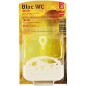 Block wc líquido aroma limón colgador + recambio