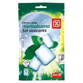 Chicle sabor hierbabuena sin azúcares