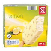 Helado bombón limón