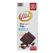 Chocolate negro sin azúcares