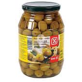 Aceitunas manzanilla con hueso frasco 500 gr