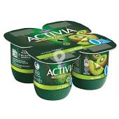 Yogur desnatado con kiwi 0% materia grasa