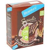 Sarialis barritas de cereales chocolate negro SIN GLUTEN