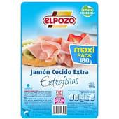 Jamón cocido extra en lonchas extrafinas bajo en grasa sin gluten