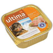 Alimento para perros junior con pollo, arroz y leche