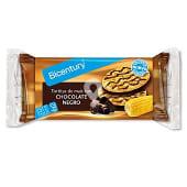 Tortitas de maiz con chocolate negro estuche 95 g