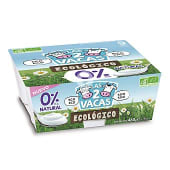 Yogur natural ecologico 0% M.G.