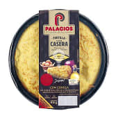 Tortilla de patatas con cebolla envase 650 gr