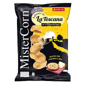 Mister corn sabores de la toscana chips de maíz