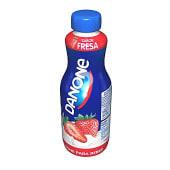 Yogur líquido para beber sabor fresa