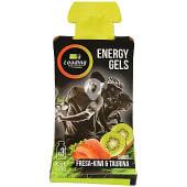 Gel energético para deportistas sabor fresa kiwi pouch