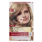 Tinte rubio claro ceniza nº 8.1 rubio claro ceniza crema color triple cuidado con pro-keratina, ceramida y colágeno
