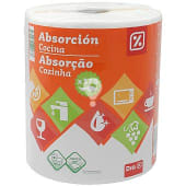 Papel de cocina absorción