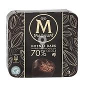 Helado mini intense dark chocolate 70% caja