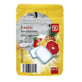 Chicle exotic sin azúcares