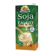 Bebida de soja sabor avellanas con calcio