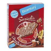 Sarialis barritas de cereales chocolate con leche