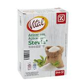 Azúcar con stevia