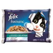 Fantastic alimento para gatos en gelatina selección de pescados