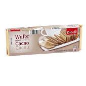 Barquillo relleno de cacao