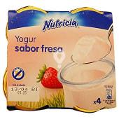 Yogur fresa (Tarro cristal)