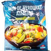 Verduras preparadas al wok (asiático) congelado