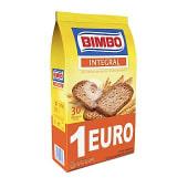 Pan tostado integral 30 rebanadas