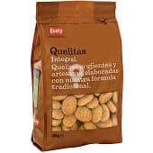 Quelitas mini galletas de Inca integrales de Mallorca bolsa 400 g