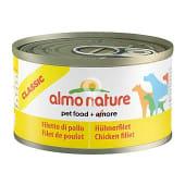 Alimento húmedo para perros adultos con filete de pollo