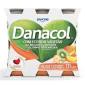 Danacol Reduz Colestrol Frutos Exóticos Danone (emb. 6 x 100 gr)