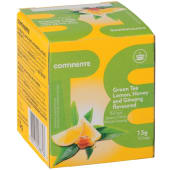 Chá Verde Limão, Mel e Ginseng Continente (emb. 10 un)