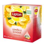 Infusão Pyramid Limão Gengibre Lipton (20 un)