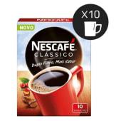 Café Solúvel Clássico Nescafé (emb. 10 x 2 gr)