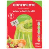 Gelatina Tutti-Fruti Continente (emb. 2 x 85 gr)