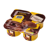 Mousse Chocolate Continente (emb. 4 x 60 gr)