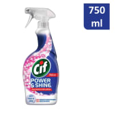 Spray Power & Shine Multiusos com Lixívia Cif (emb. 750 ml)