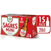 Sagres Mini (emb.15 x 20 cl)