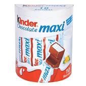 Barritas de chocolate con leche extrafino