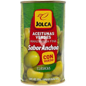 Aceitunas verdes sabor anchoa