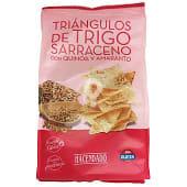 Triángulo trigo sarraceno con quinoa y amaranto