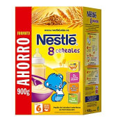 Papilla 8 cereales caja