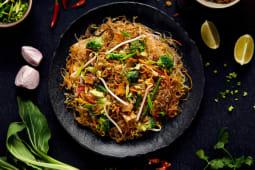 Soya Noodles z warzywami