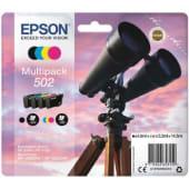 Epson Cartuccia d'inchiostro Multipack 502, nero, ciano, giallo e magenta