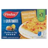 Findus, I Gratinati Merluzzo d'Alaska con patate e rosmarino surgelato 380 g