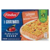 Findus, I Gratinati salmone con melanzane e pomodori surgelati 280 g