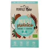 Perfect Bio, Perfect, Bio Muesli proteico cacao - cocco 275 g