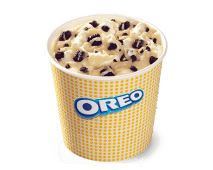 McFlurry® Oreo con Chocolate Blanco