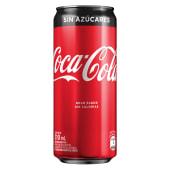 Coca s/ azucar 310 cc